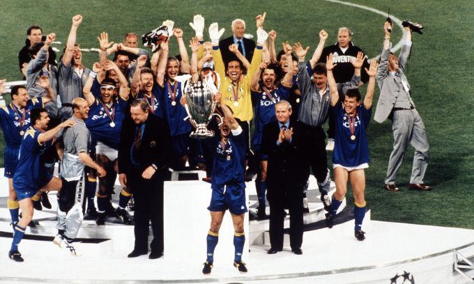 Juventus CL Champions 1996