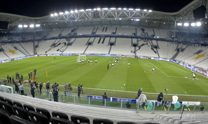 Juventus Stadium Training