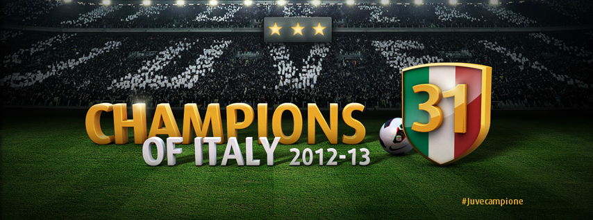 Juventus - Champions of Italy 2012-2013