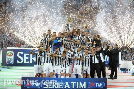 Juventus - Champions of Italy 2013