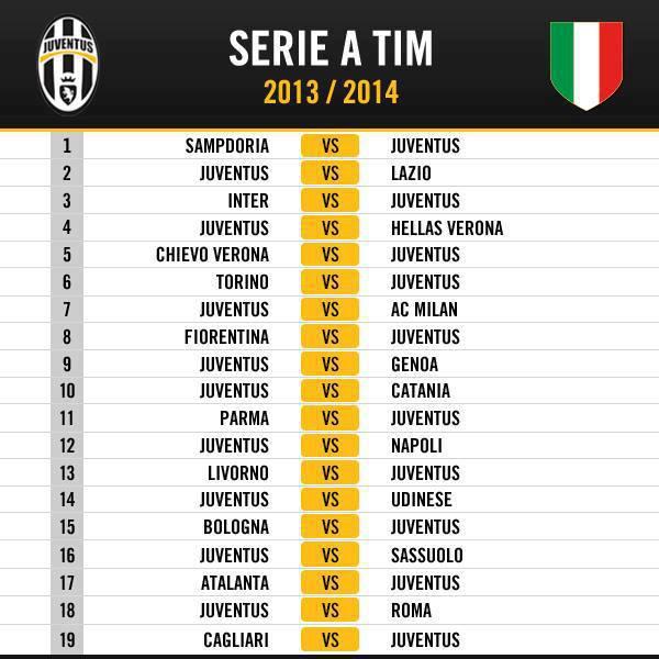 Серия А 2013-2014